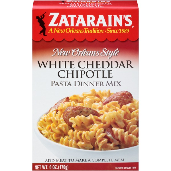 Zatarain's White Cheddar Chipotle Pasta Dinner Mix
