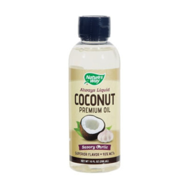 Nature's Way Liquid Garlic Coconut Oil