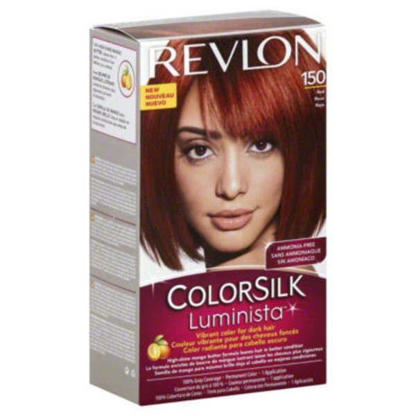 Revlon ColorSilk Luminista Red Hair Color