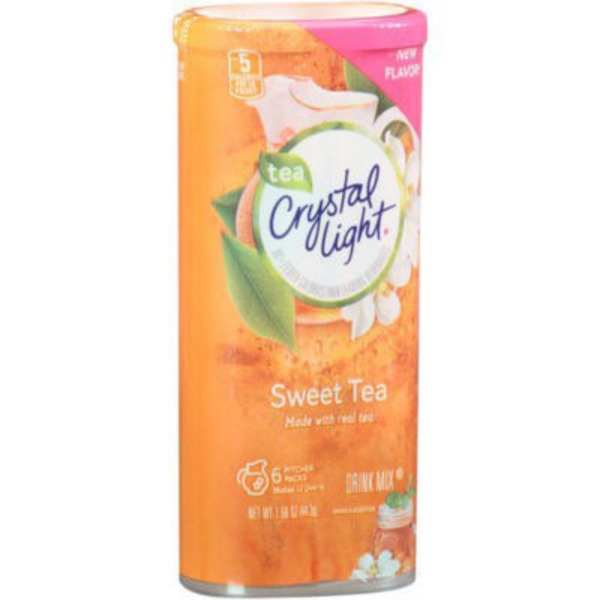 Crystal Light Sweet Tea 12 qt Drink Mix