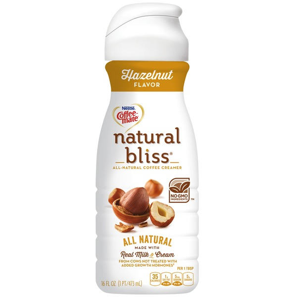 Nestlé Coffee Mate Hazelnut All Natural Liquid Coffee Creamer