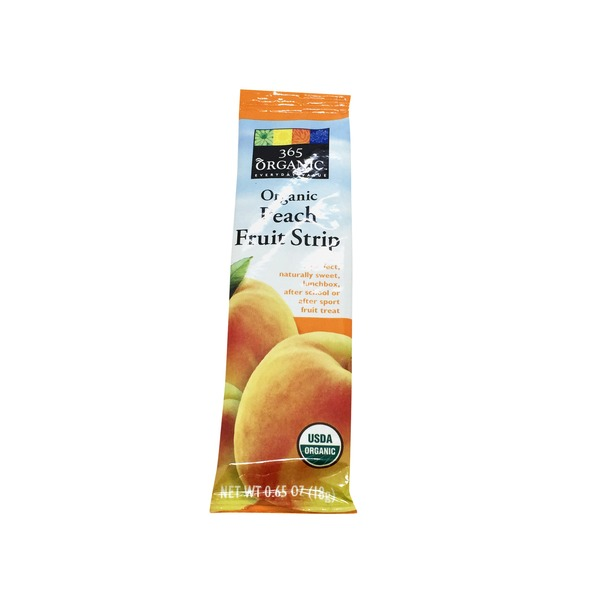 365 Organic Peach Fruit Strip