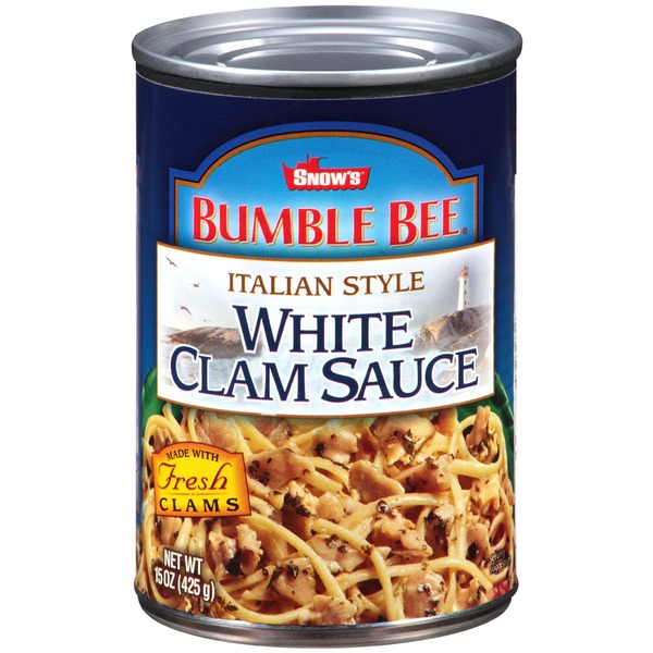 Bumble Bee Italian Sauce White Clam Sauce