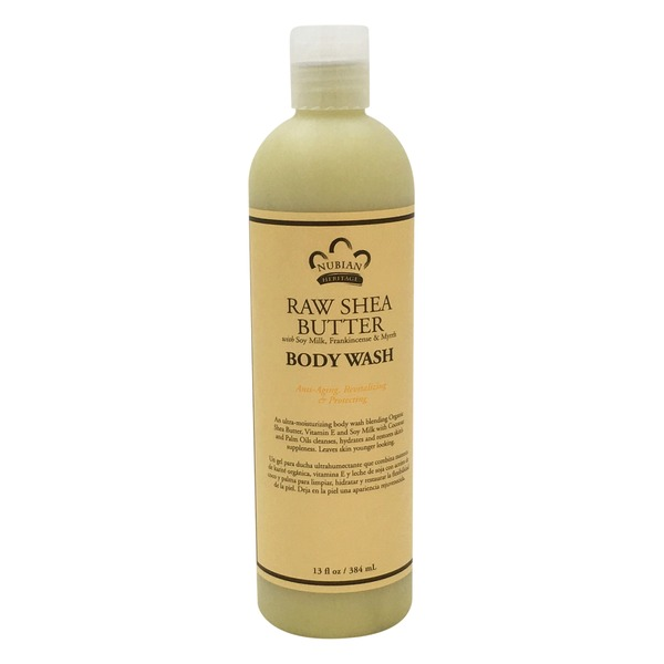Nubian Heritage Body Wash, Raw Shea Butter