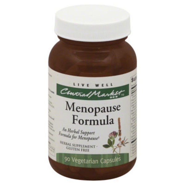 Central Market Menopause Formula Capsules
