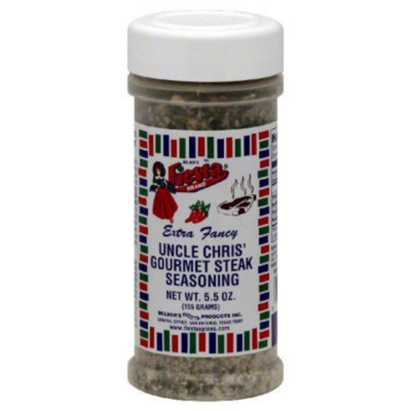 Fiesta Extra Fancy Uncle Chris' Gourmet Steak Seasoning