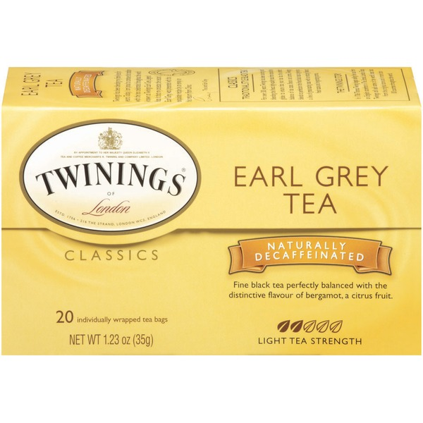 Twinings Earl Grey Naturally Decaffeinated Tea Bags