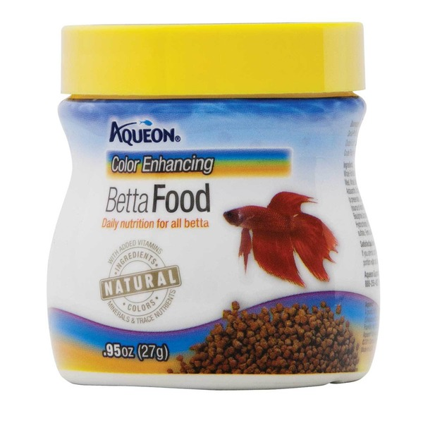Aqueon Color Enhancin Betta Food Daily Nutrition For All Betta