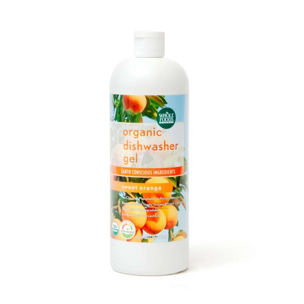 Whole Foods Market Organic Sweet Orange Dishwasher Gel