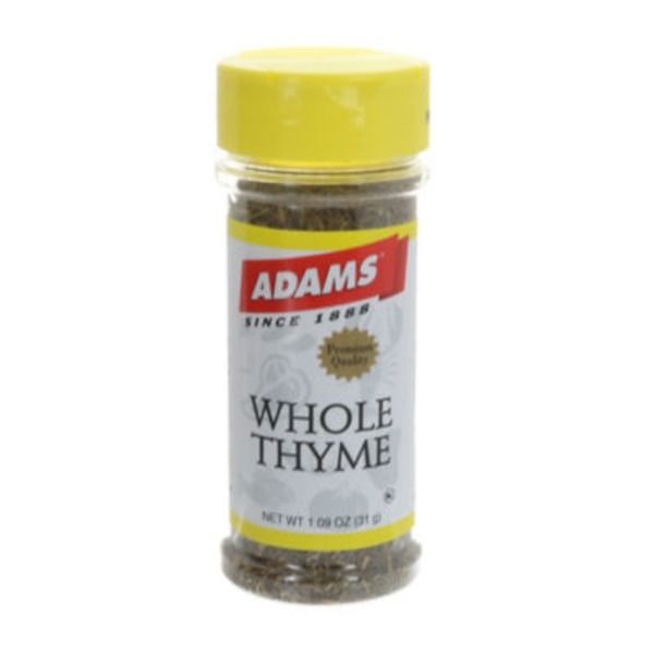 Adams Whole Thyme Spice
