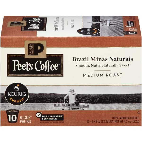 Peet's Coffee & Tea Brazil Minas Naturais Medium Roast Coffee