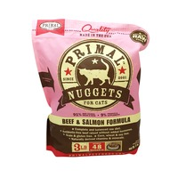Primal Pet Foods Beef & Salmon Nuggets For Cats