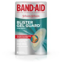 BAND-AID® Brand Blister Protection, Adhesive Bandages, 6 Count