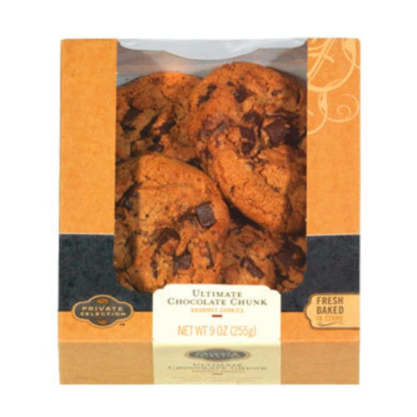 Kroger Private Selection Ultimate Chocolate Chunk Cookies