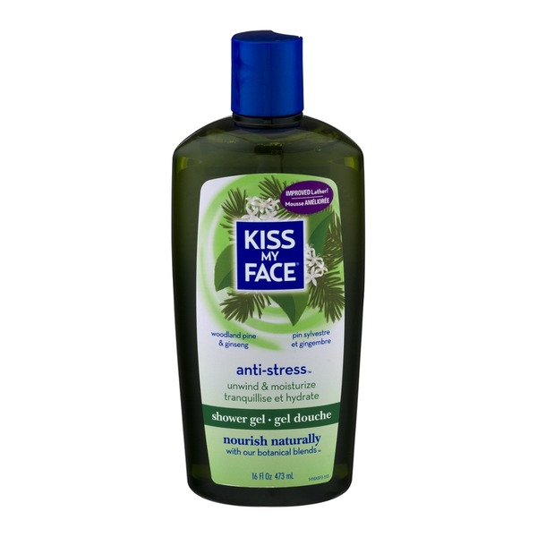Kiss My Face Shower Gel Anti-Stress Woodland Pine & Ginseng