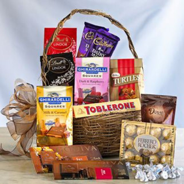 H-E-B Chocolate Lover's Gift Basket