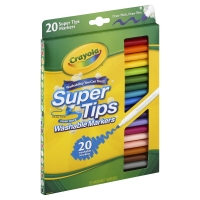 Crayola Markers Super Tips Washable