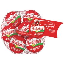 The Laughing Cow Mini Babybel Semisoft Cheese, 6 ct