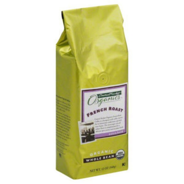 Central Market Organics. Organic Whole Bean French Roast Coffee