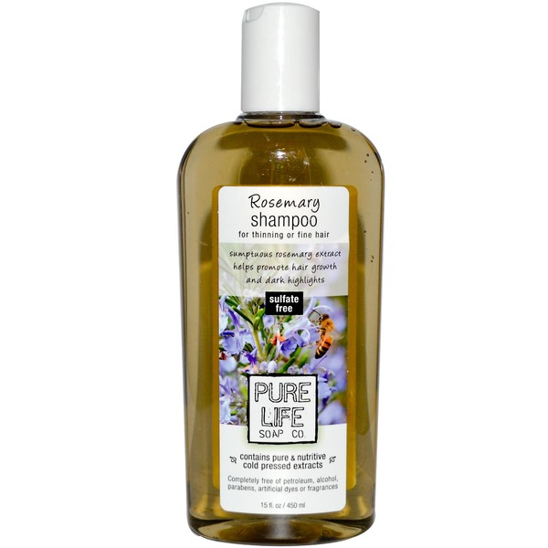 Pure Life Soap Co Rosemary Shampoo