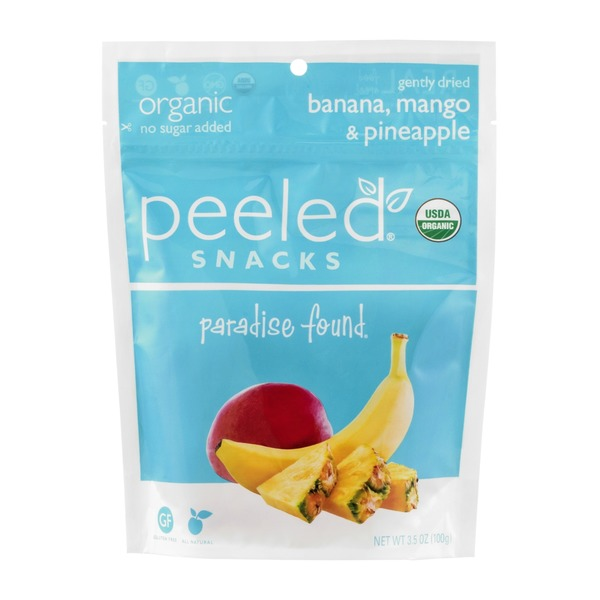 Peeled Snacks Organic Paradise Found