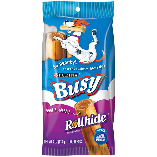 Busy Rollhide Small/Medium Dog Treats