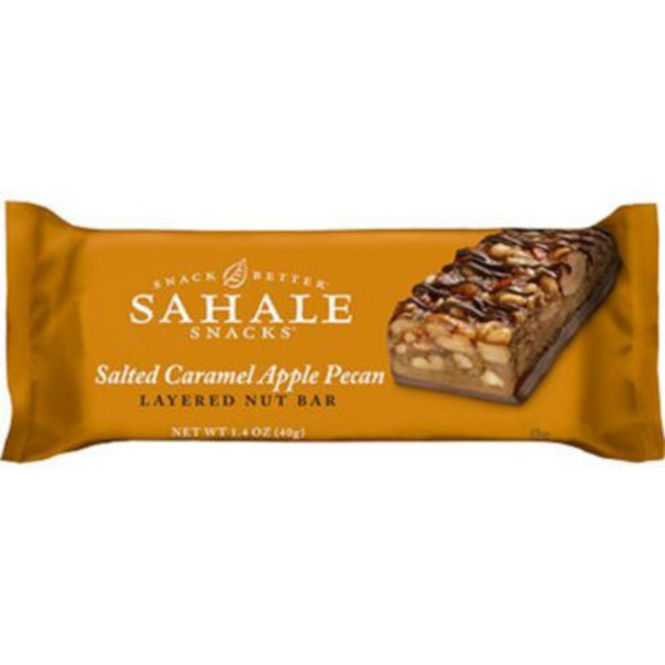 Sahale Snacks Salted Caramel Apple Pecan Layered Nut Bar