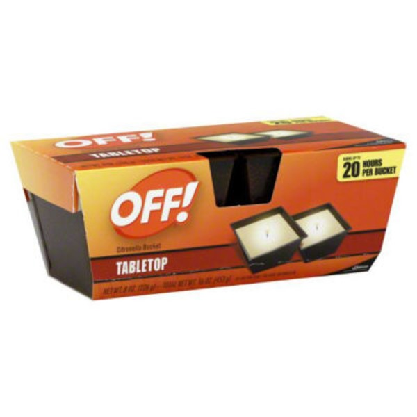 Off! Tabletop Citronella Bucket Insect Repellent