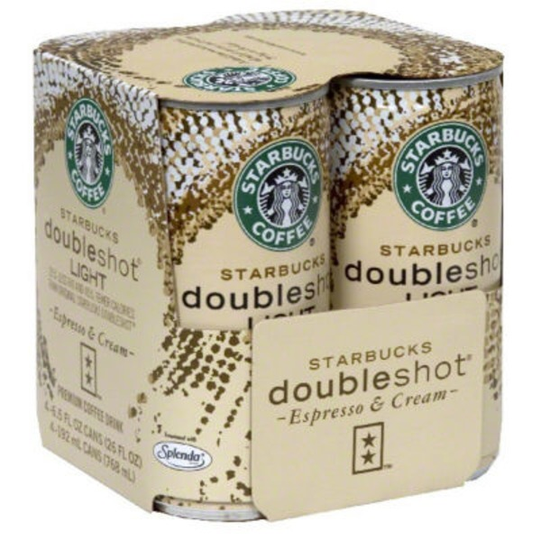 Starbucks Doubleshot Espresso & Cream Light Coffee Drink