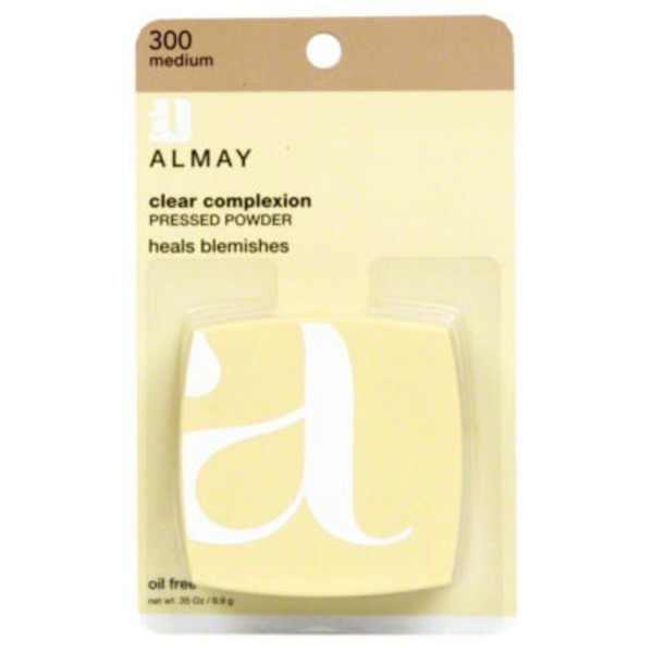 Almay Clear Complexion Pressed Powder - Medium 300