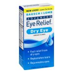 Bausch + Lomb Advanced Eye Relief Dry Eye, 0.5 FL oz