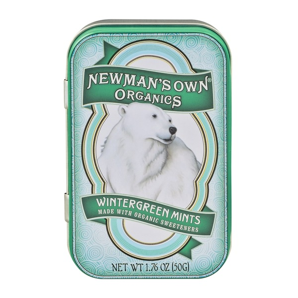 Newman's Own Wintergreen Mints