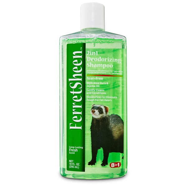 FerretSheen 2 in 1 Deodorizing Shampoo Long-Lasting Fresh Scent