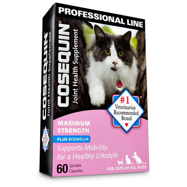 Cosequin Maximum Strength Joint Health Supplement Sprinkle Capsules For Cats