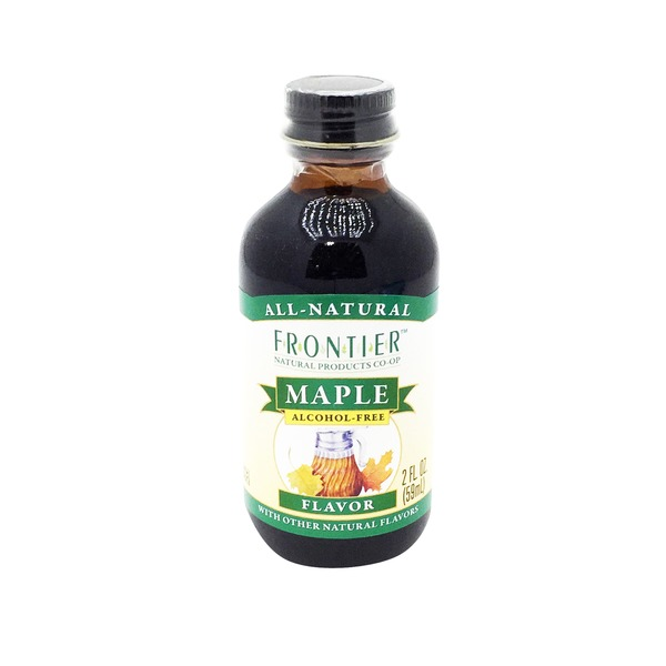 Frontier Alcohol Free Maple Flavor