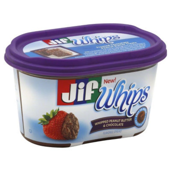 Jif Whips Whipped Peanut Butter & Chocolate
