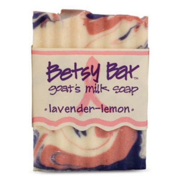 Betsy Bar Goat's Milk Soap Lavender-Lemon