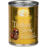 Wellness Turkey Stew With Barley & Carrots Natural Dog Food
