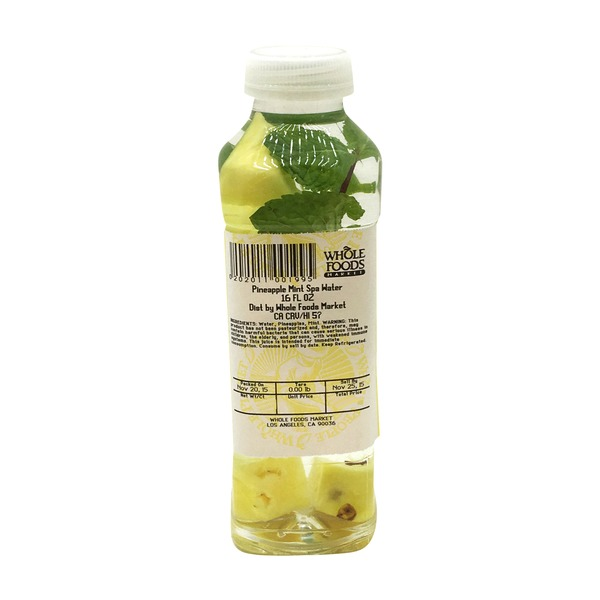 Produce Pineapple Mint Spa Water