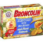Broncolin Bee Honey/Plant Extracts Hard Candy
