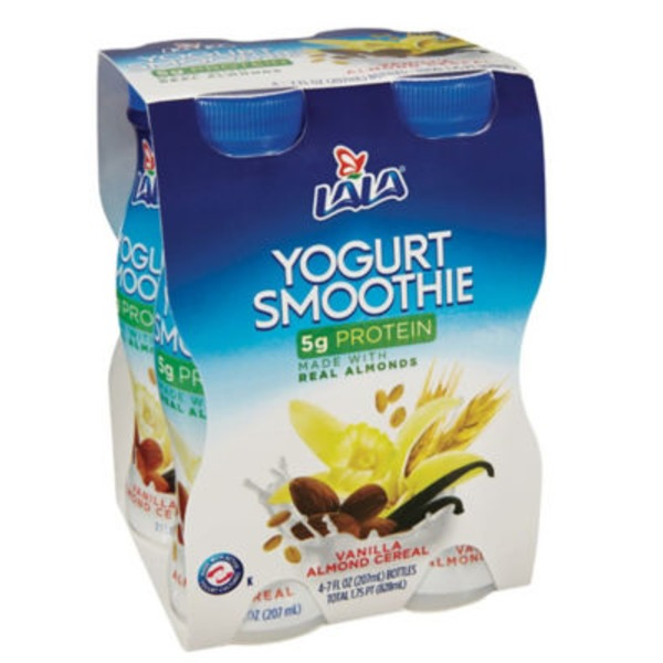 Lala Low Sugar Vanilla/Almond Drinkable Yogurt