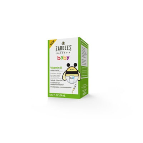 Zarbee's Naturals Baby Vitamin D Supplement Dietary Supplement