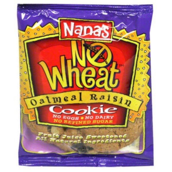 Nana's No Wheat Oatmeal Raisin Cookie