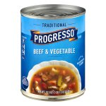 Progresso™ Low Fat Traditional Beef & Vegetable Soup 18.5 oz Can, 18.5 OZ