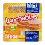 Lunchables Turkey & Cheddar, 3.2 OZ