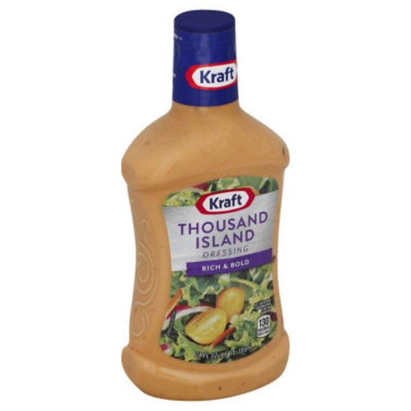 Kraft Salad Dressing Thousand Island Dressing
