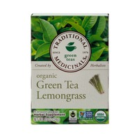Traditional Medicinals Green Teas Organic Green Tea Lemongrass Tea Bags - 16 CT