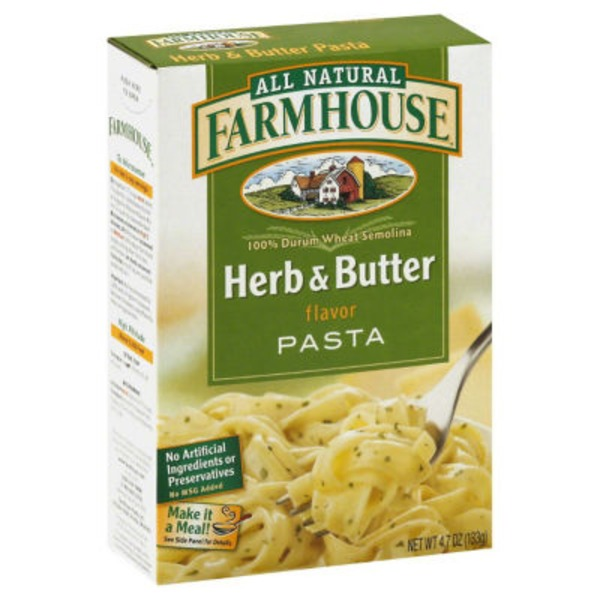 Farmhouse Pasta, Herb & Butter Flavor
