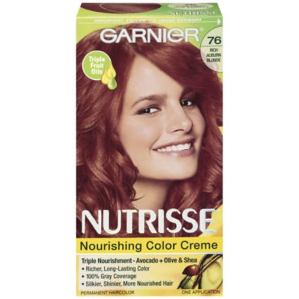 Nutrisse® 76 Rich Auburn Blonde (Hot Tamale) Nourishing Color Creme