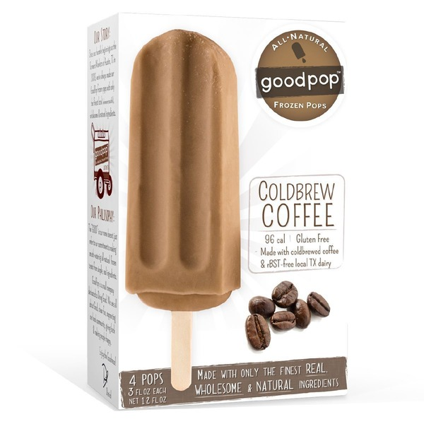 GoodPop Coldbrew Coffee Frozen Pop